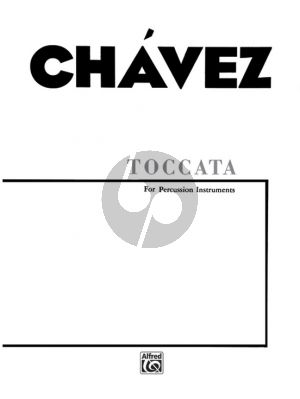 Chavez Toccata for Percussion Ensemble