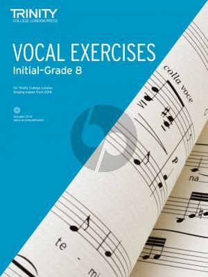 Vocal Exercises 2018 Initial - Grade 8 (Bk-Cd)