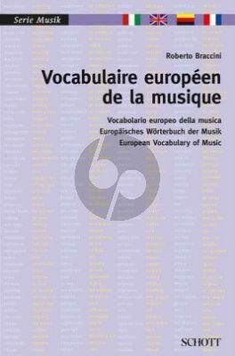 Vocabulaire Européen de la Musique (Italien - Anglais - Allemand - Français)