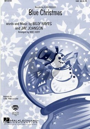 Hayes Blue Christmas SAB (arranged by Mac Huff)