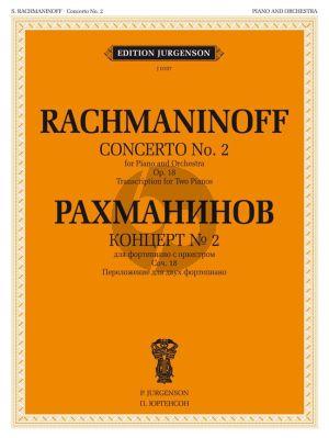 Rachmaninoff Concerto No.2 Op.18 (Piano-Orch.) (red. 2 Pianos)