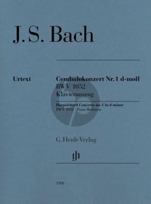 Bach Harpsichord Concerto no. 1 in d minor BWV 1052