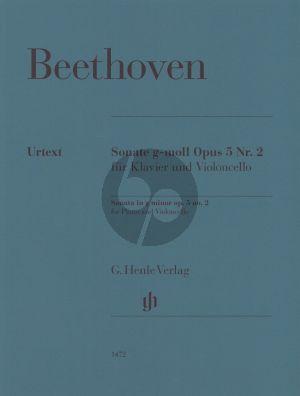 Beethoven Violoncello Sonata g minor op. 5 no. 2