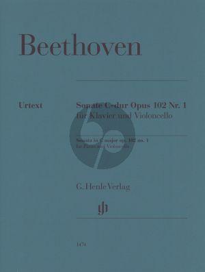 Beethoven Violoncello Sonata C major op. 102 no. 1