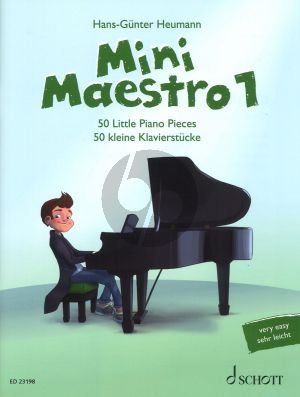 Mini Maestro 50 little Piano Pieces (From Baroque to Modern Music for Concerts, Lessons and Exams) (editor H.G. Heumann)