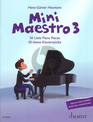 Mini Maestro 3 50 little Piano Pieces (From Baroque to Modern Music for Concerts - Lessons and Exams) (editor H.G. Heumann)