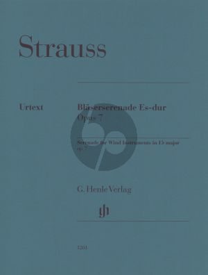 Strauss Serenade for Wind Instruments E flat major op. 7