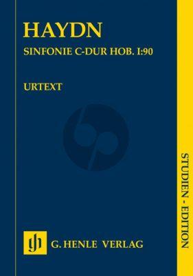 Haydn Symphony C major Hob. I:90 Study score