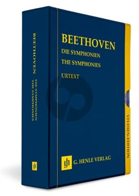 Beethoven The Symphonies - 9 Study Scores in a Slipcase