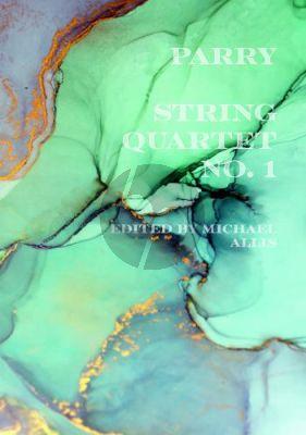 Parry String Quartet No. 1 Score and Parts (edited by Michael Allis)