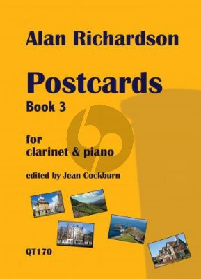 Richardson Postcards Book 3 Clarinet and Piano (edited by Jean Cockburn)