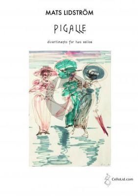 Lidstom Pigalle - Divertimento for 2 Cellos