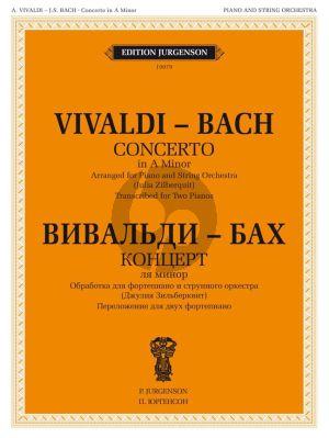 Vivaldi-Bach Concerto in A Minor RV 522/BWV 593 for 2 Piano's (arr. Julia Zilberquit)