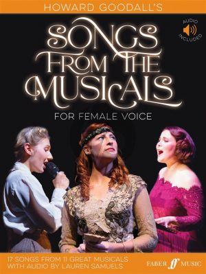 Goodall Howard Goodall's Songs from the Musicals for Female Voice (Book with Audio Online)