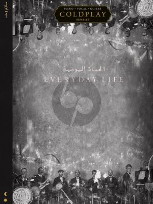 Coldplay Everyday Life Piano-Vocal-Guitar