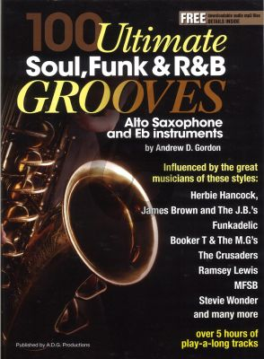 100 Ultimate Soul Funk and R&B Grooves for Alto Saxophone BK-Audio online