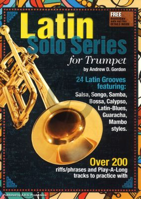 Latin Solo Series for Trumpet Book with Mp3 audio files (24 Latin Grooves)