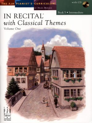 Marlais In Recital with Classical Themes Vol.1 Book 5 Intermediate Piano (Book with Cd)