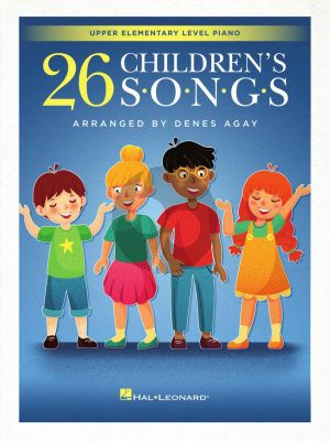 Agay 26 Children's Songs for Piano
