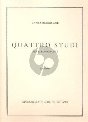 Morricone 4 Studi per Pianoforte