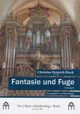 Rinck Fantasie und Fuge Orgel (Tobias Zuleger)