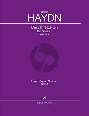 Haydn Die Jahreszeiten Hob. XXI:3 Soli-Chor und Orchester (Partitur) (Ernst Herttrich)