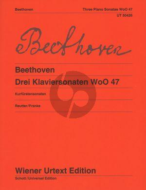 Beethoven 3 Klaviersonaten WoO 47 (Kurfurstensonaten)