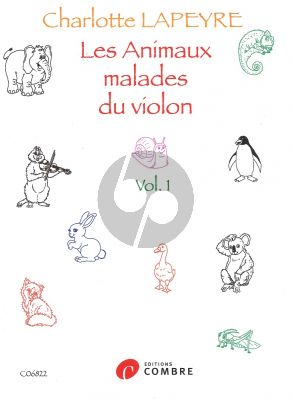 Les Animaux malades du violon Vol.1 Violon - Piano