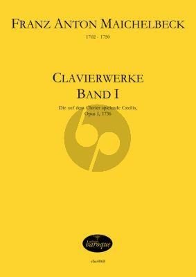 Maichelbeck Clavierwerke Op.1 Band 1 für Klavier (Jörg Jacobi)