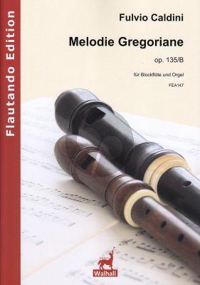 Caldini Melodie Gregoriane Op. 135/B Altblockflöte und Orgel