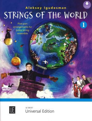 Igudesman Strings of the World Score and Download Material (Five-part arrangements for junior string ensemble)