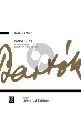 Petite Suite for Saxophone Quartet Score and Parts (arr. Andreas van Zoelen)