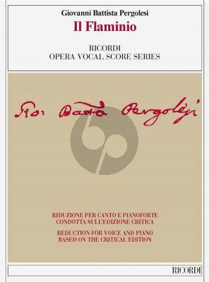 Pergolesi Il Flaminio Vocal Score (edited by Ivano Bettin)