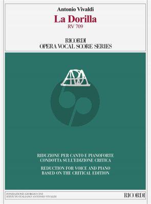 Vivaldi La Dorilla RV 709 Vocal Score (edited by Ivano Bettin)