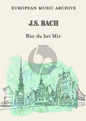 Bach Bist du bei mir for Cello and Piano