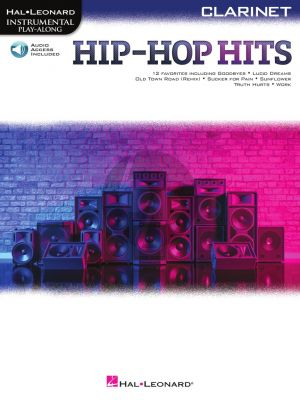 Hip-Hop Hits Instrumental Play-Along for Clarinet (Book with Audio online)