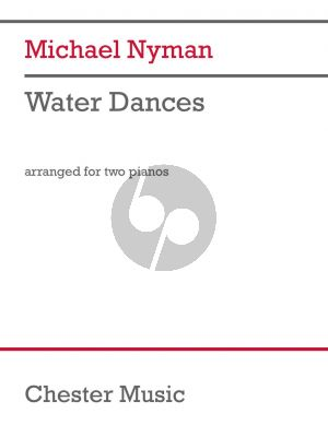 Nyman Water Dances for 2 Piano's (Score/Parts)