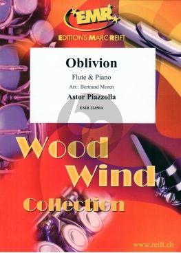 Piazzolla Oblivion for Flute and Piano (arr.: Bertrand Moren)