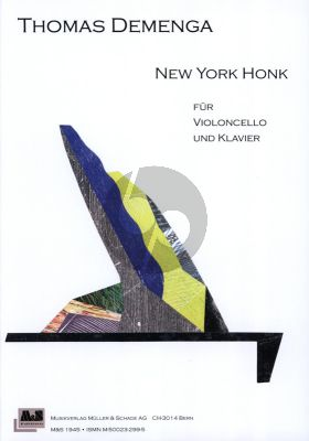 Demenga New York Honk Violoncello and Piano