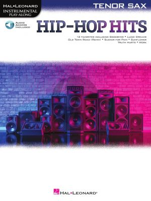 Hip-Hop Hits Instrumental Play-Along for Tenor Saxophone (Book with Audio online)