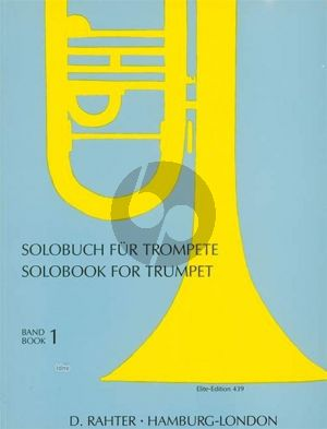 Solobuch für Trompete 1 (Franz Herbst)