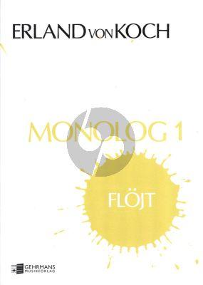 Koch Monologue No.1 Flute Solo