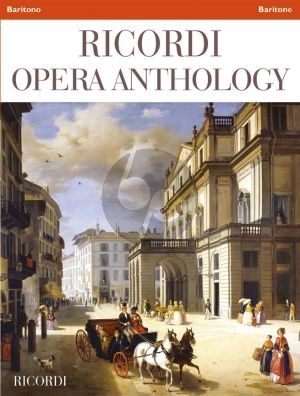Ricordi Opera Anthology Baritone and Piano
