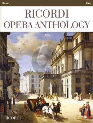 Ricordi Opera Anthology Bass and Piano