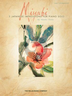 Ikeda Miyabi: 5 Japanese Impressions for Piano Solo