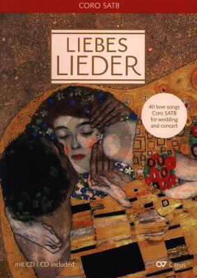 Album Liebeslieder - Chorleiterband mit Cd Gemischten Chor (40 Lieder für gemischten Chor (z.T. mit Klavier)) (Liederprojekt in Zusammenarbeit mit dem Verlag Reclam.)