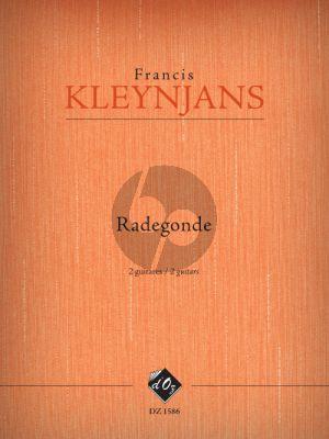 Kleynjans Radegonde Op. 268 2 Guitars