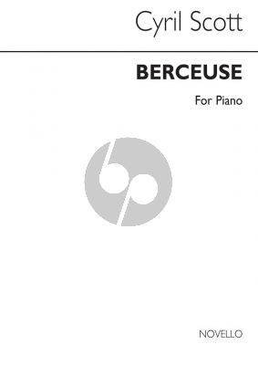 Scott Berceuse Piano Solo