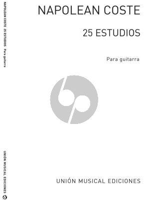 Coste 25 Estudios Para Guitarra