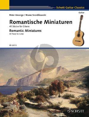 Romantische Miniaturen for Guitar Solo (Romantic Miniatures) (edited by Peter Ansorge and Bruno Szordikowski)